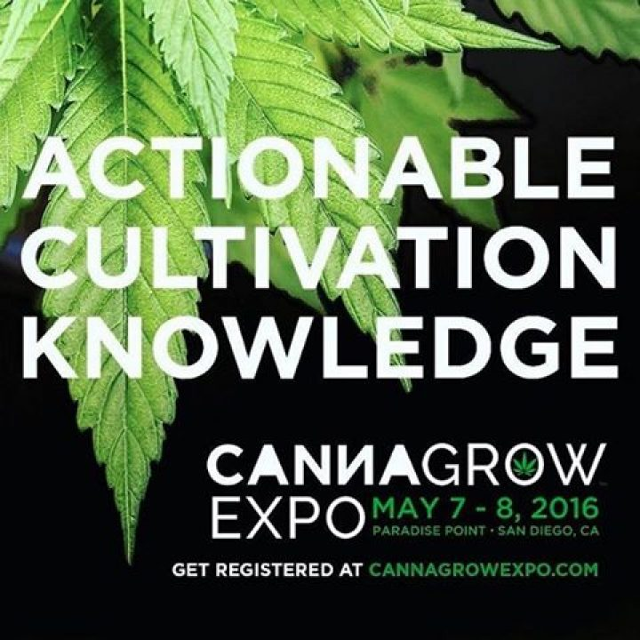 The @CannaGrowExpo is filling fast. Get your ticket and hotel room booked now to…