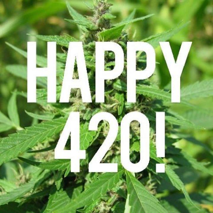 Happy 4/20 …